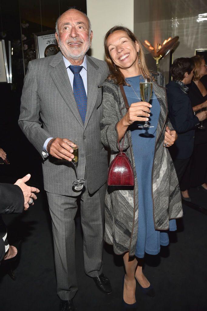 Gregory Callimanopulos and Tatiana Callimanopulos_Credit Patrick McMullan