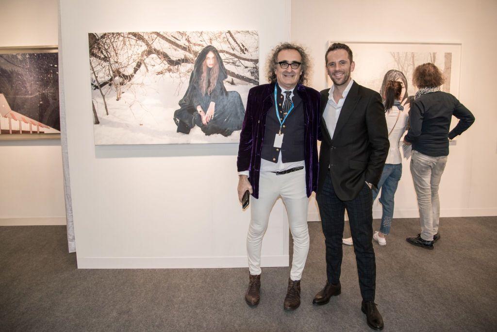 Yigal Ozeri and Gregoire Vogelsang_Photo Annie Watt