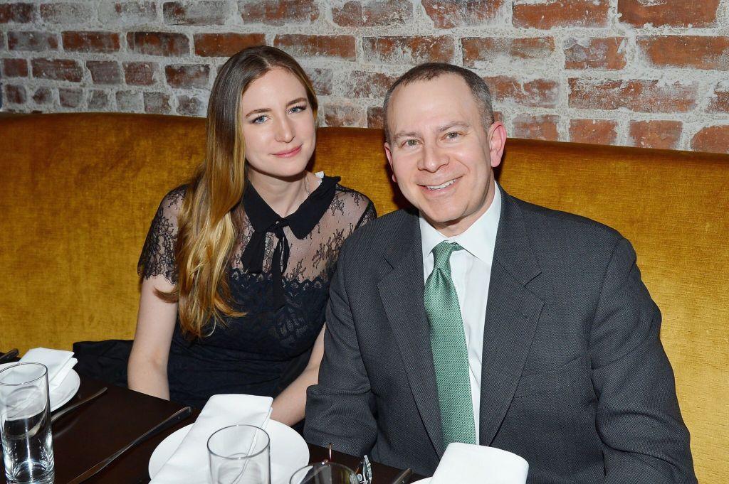 Amanda Kahn and Dr. David Fox_Credit Patrick McMullan