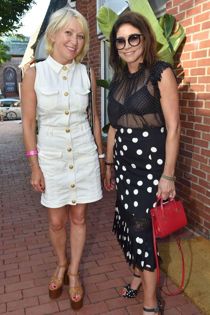 Janna Bullock and Caroline Hirsch_CREDIT Patrick McMullan
