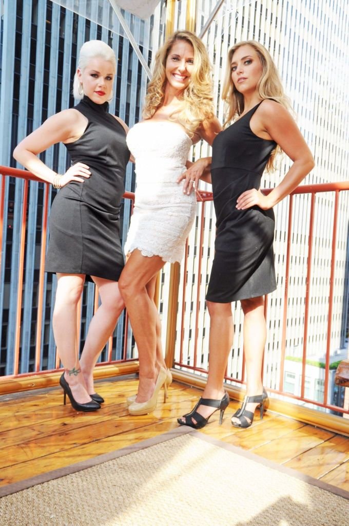 Lidia with models_Photo Credit Nikki McDonnell