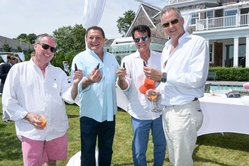 Andy Fisch, Amaletto Mazza, Charles Tetro, Jamie Dayhill_Credit Rob Rich/SocietyAllure.com