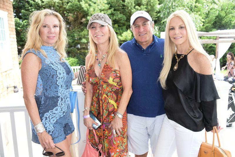 Ramona Singer, Regina Kravitz, Dan Berg and Nancy Pearsons_Credit Rob Rich/SocietyAllure.com