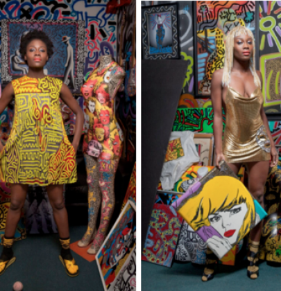"""Morphew Presents """"Which Comes First, the Art or the Fashion?""""-A pop art inspired installation and store at Aqua Art Miami"""