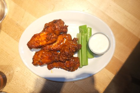 Top five spots for chicken wings in NYC