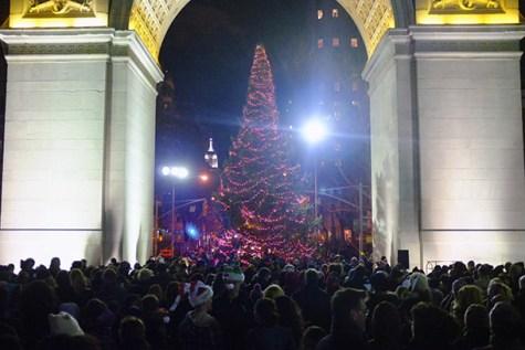 Washington Square Christmas tree lighting ceremony celebrates its 88th year