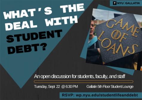Gallatin hosts student debt series