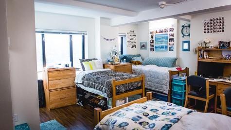 NYU's redesigned Hayden Hall brings sleek new amenities to campus