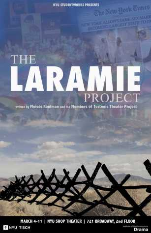 """Tisch Students Bring """"The Laramie Project"""" Into 2016"""