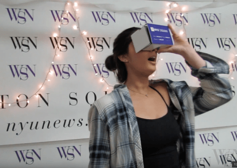 VIDEO: Tandon's Cardboard VR Goggles Take Class of 2020 to Mars