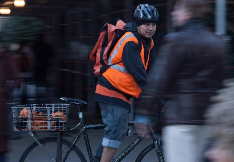 City introduces program to protect commercial cyclists