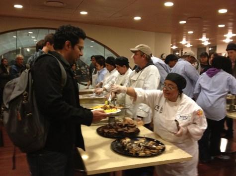 Feeding NYU in aftermath of storm