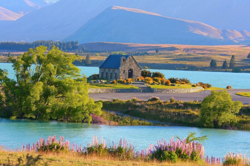 Church of the Good Shepherd Lake Tekapo New Zealand