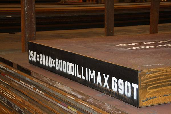 Dillimax Heavy S690QL Plate 250 mm thick