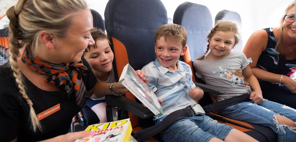 easyJet fomenta la lectura infantil en verano