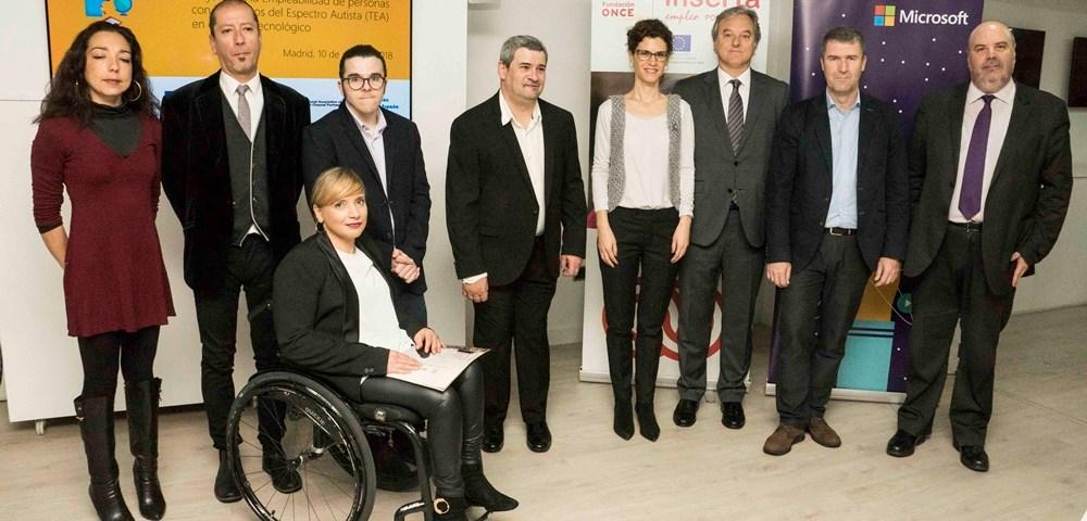 Las empresas de Microsoft y Fundación ONCE se han unido a Fundación ONCE para desarrollar el Proyecto TICTEA con el objetivo de promover el empleo de las personas con Trastornos del Espectro Autista (TEA) en la industria de las Tecnologías de la Información y la Comunicación