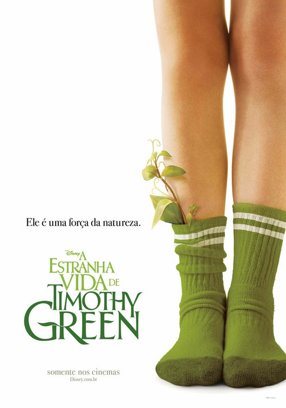 Poster do filme A Estranha Vida de Timothy Green