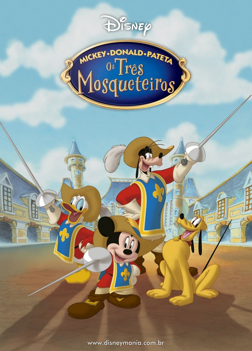 Poster do filme Mickey, Donald e Pateta - Os Três Mosqueteiros
