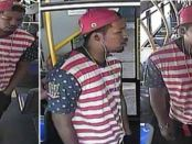 Atlanta police release photo of American flag wearing rapist