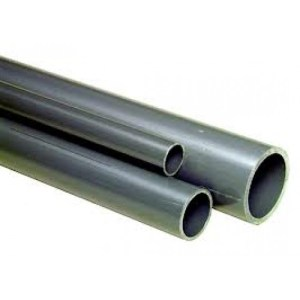 OCEANSING PVC High Quality Thick (Grey) Piping - 20mm Diameter