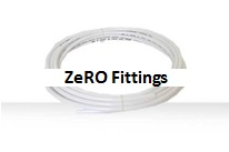 ZeRO Colour tubing- white O.D:6.4mm , I.D:4mm