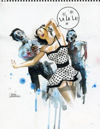 Lalala par Lora Zombie