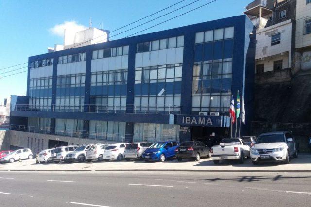 Sede do Ibama na Bahia. Novo superintendente tem histórico controverso com a área ambiental.  Foto: Asibama-BA.