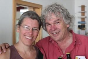 Christiane Lüst mit Heini Staudinger