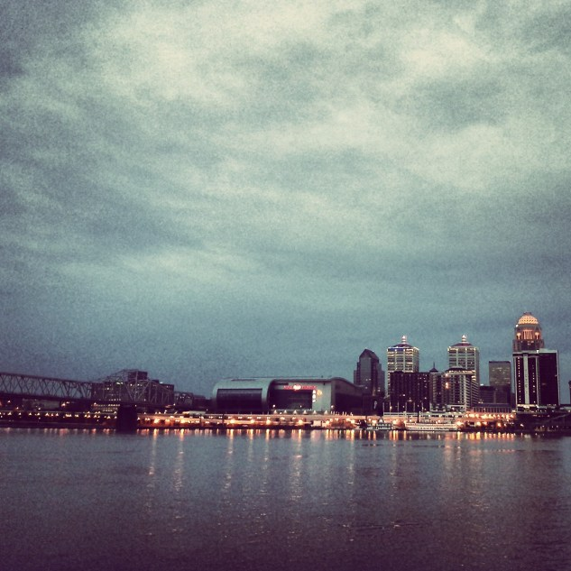 Louisville Riverview by Night