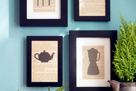 interesting decor and ideas for decorating the wall in the
