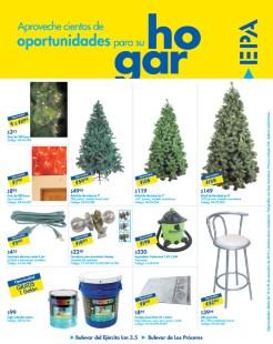 Arbolitos de navidad luces y mas Promociones EPA el salvador - 15nov13