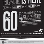 BLACK is HERE promotion Banco Promerica - 15nov13
