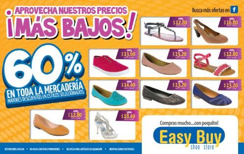 Compras mucho con poquito EASY BUY descuentos en zapatos - 15nov13