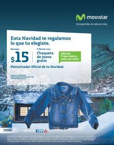 Promociones MOVISTAR te regala una chaqueta de jeans GRATIS - 15nov13