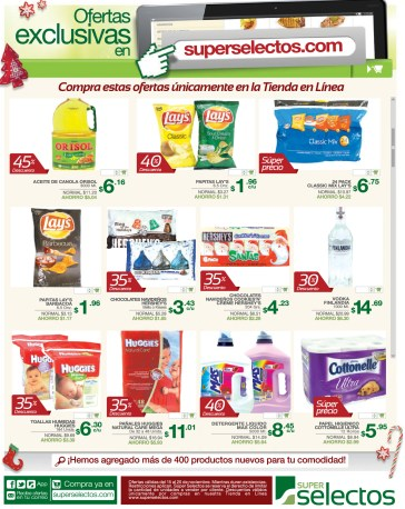 SuperSelectos.com ofertas exclusivas visita tienda online - 15nov13