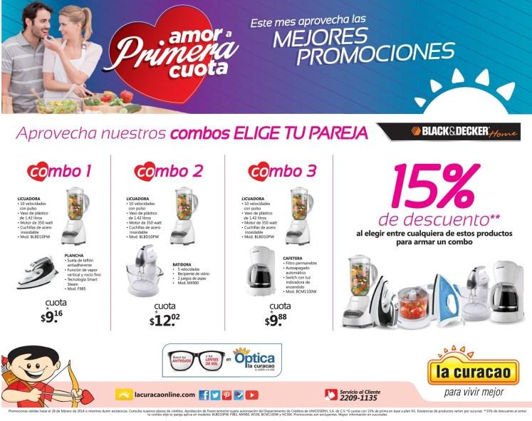 Las mejores promociones SAM VALENTIN La Curacao el salvador - 08feb14