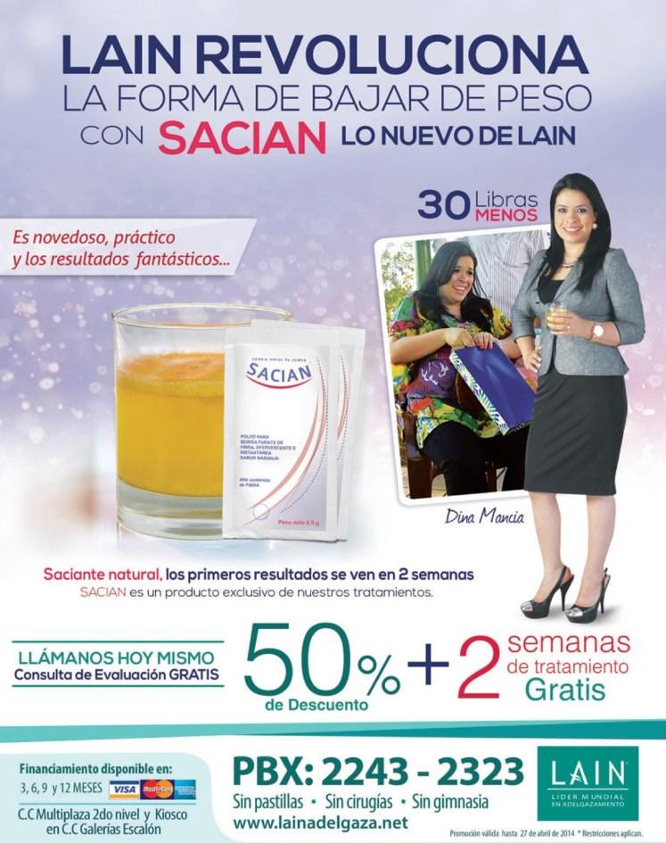 Bebida reductora SACIAN natural - 21abr14