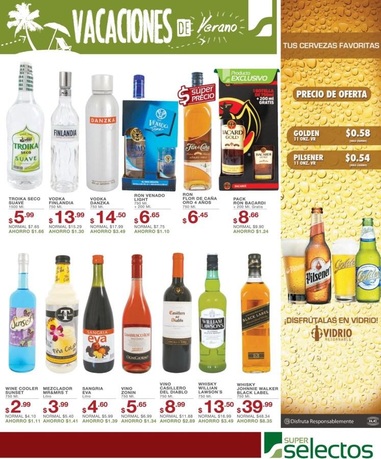 Precio de ofertas PILSENER y SUPREMA cerveza - 15abr14
