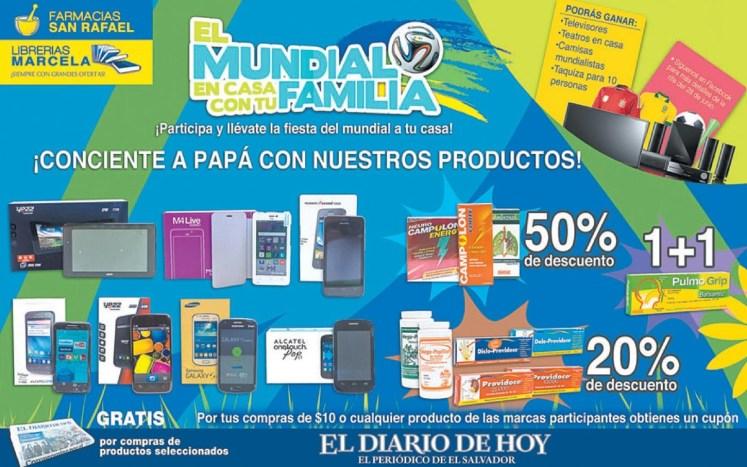 Consiente a papa con estos productos MUNDIALISTAS - 17jun14