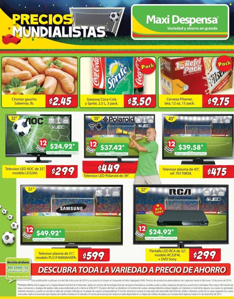 Descubre toda la variedad a precio de ahorro MAXI DESPENSA -12jun14