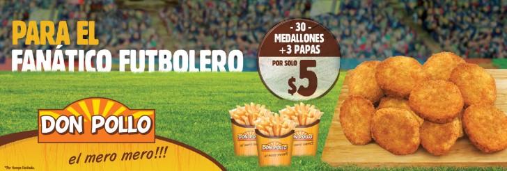 Fantanico DON POLLO promociones futbol mundial - 20jun14