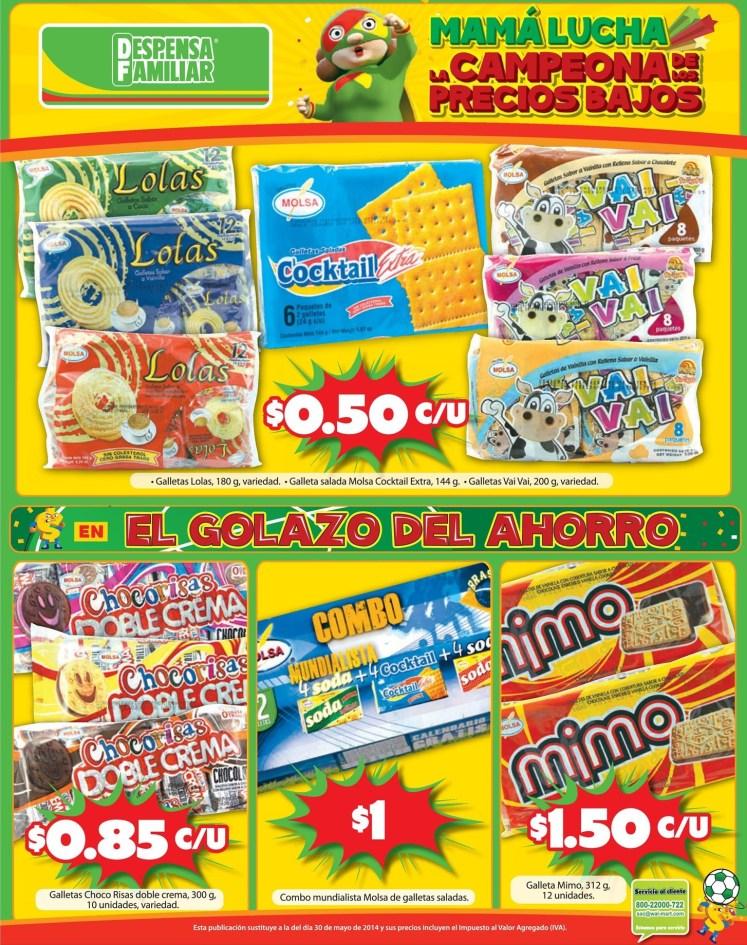 Las mas ricas galletas en ofertas DESPENSA FAMILIAR - 21jun14