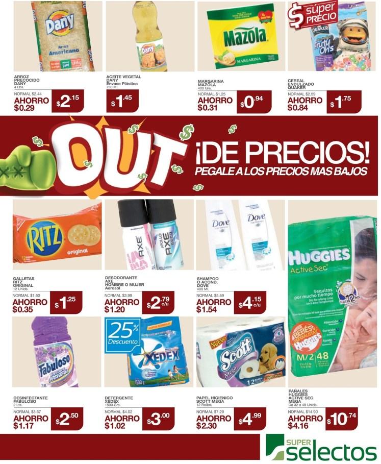 Los precios mas bajos de hoy SUPER SELECTOS - 30jun14