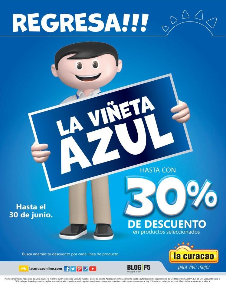 Regresa LA VIÑETA AZUL promociones la curacao - 20jun14