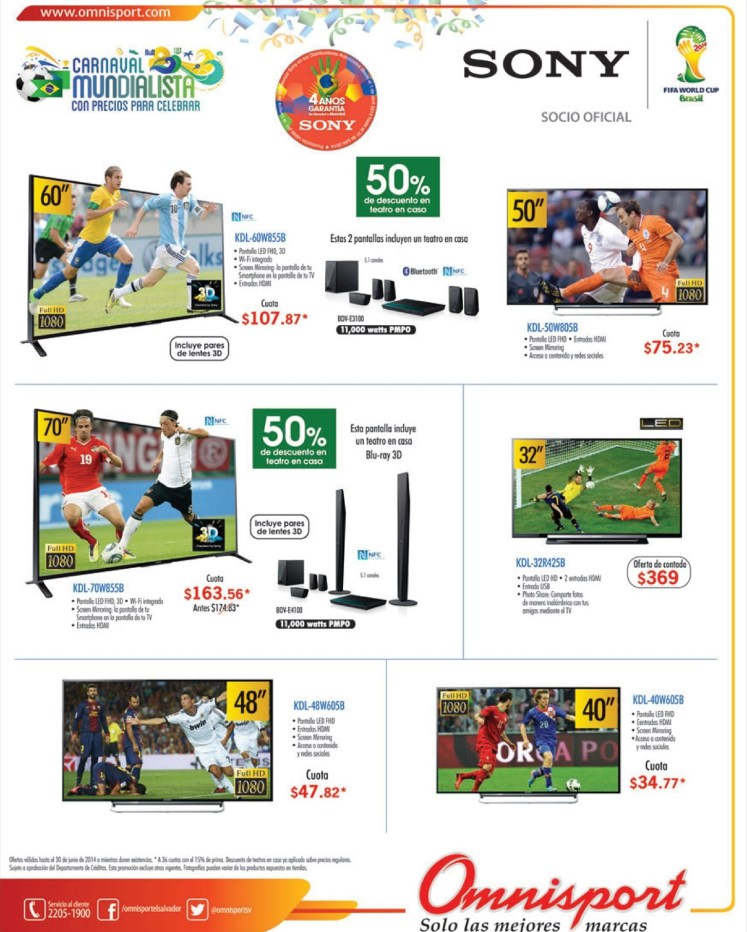 descuento 50 off SONY