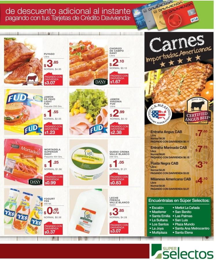 Comprar carnes para la semana SUPER SELECTOS ofertas - 02jul14