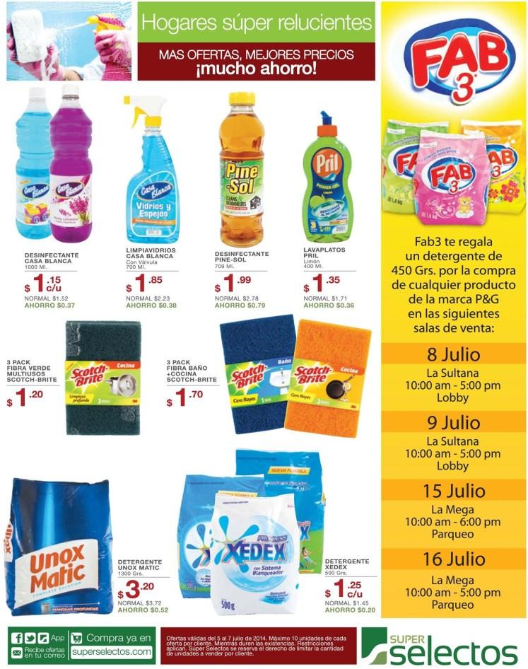 Limpieza aromas detergentes OFerTAS super selectos - 05jul14