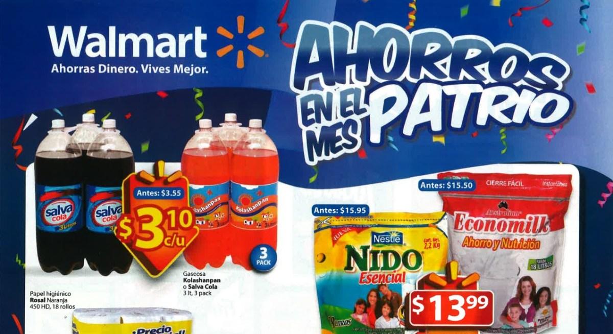 WALMART ahorro  en el mes Patrio (sep-14)