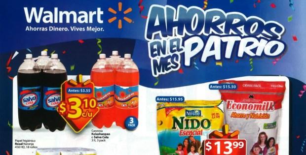 Septiembre 2014 guia de compras WALMART el salvador
