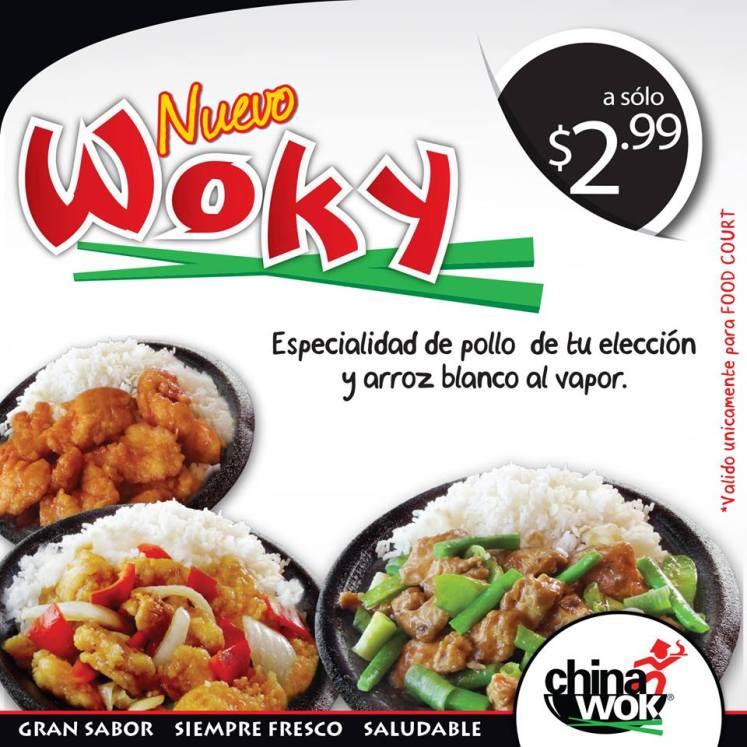 nuevo WOKY combos chinawok ofertas